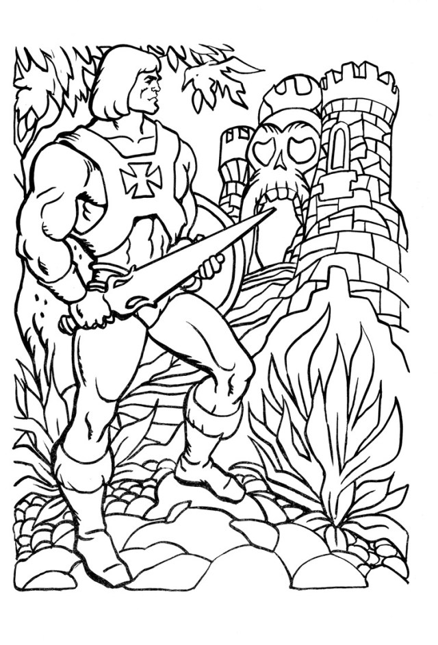 He-Man Coloring Pages - Best Coloring Pages For Kids