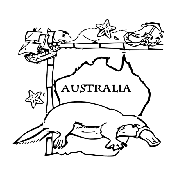 Australia Coloring Pages - Best Coloring Pages For Kids