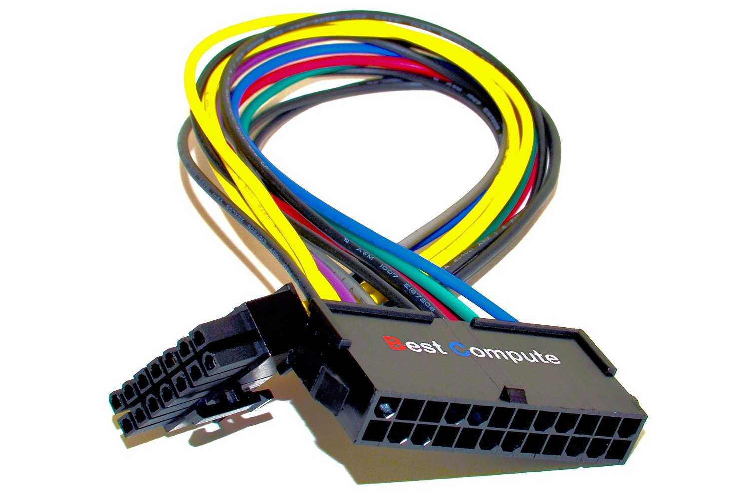 ATX 24-Pin to 14-Pin Power Supply Cable Adapter 18AWG for Lenovo IBM 8-Inch 8/""