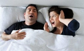 Contrast between a normal person and an Obstructive sleep Apnea patient