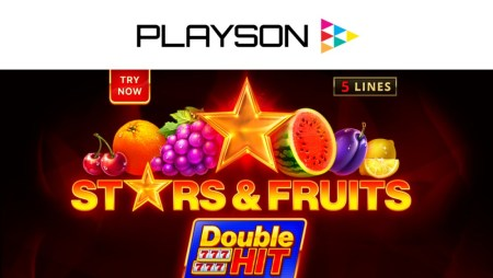 """Playson's """"Stars and Fruits: Double Hit"""" new slot"""