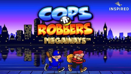 """Inspired Ent. launches """"Cops N' Robbers Megaways"""""""