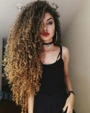long curly hair 2018