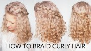 easy hairstyles curly hair