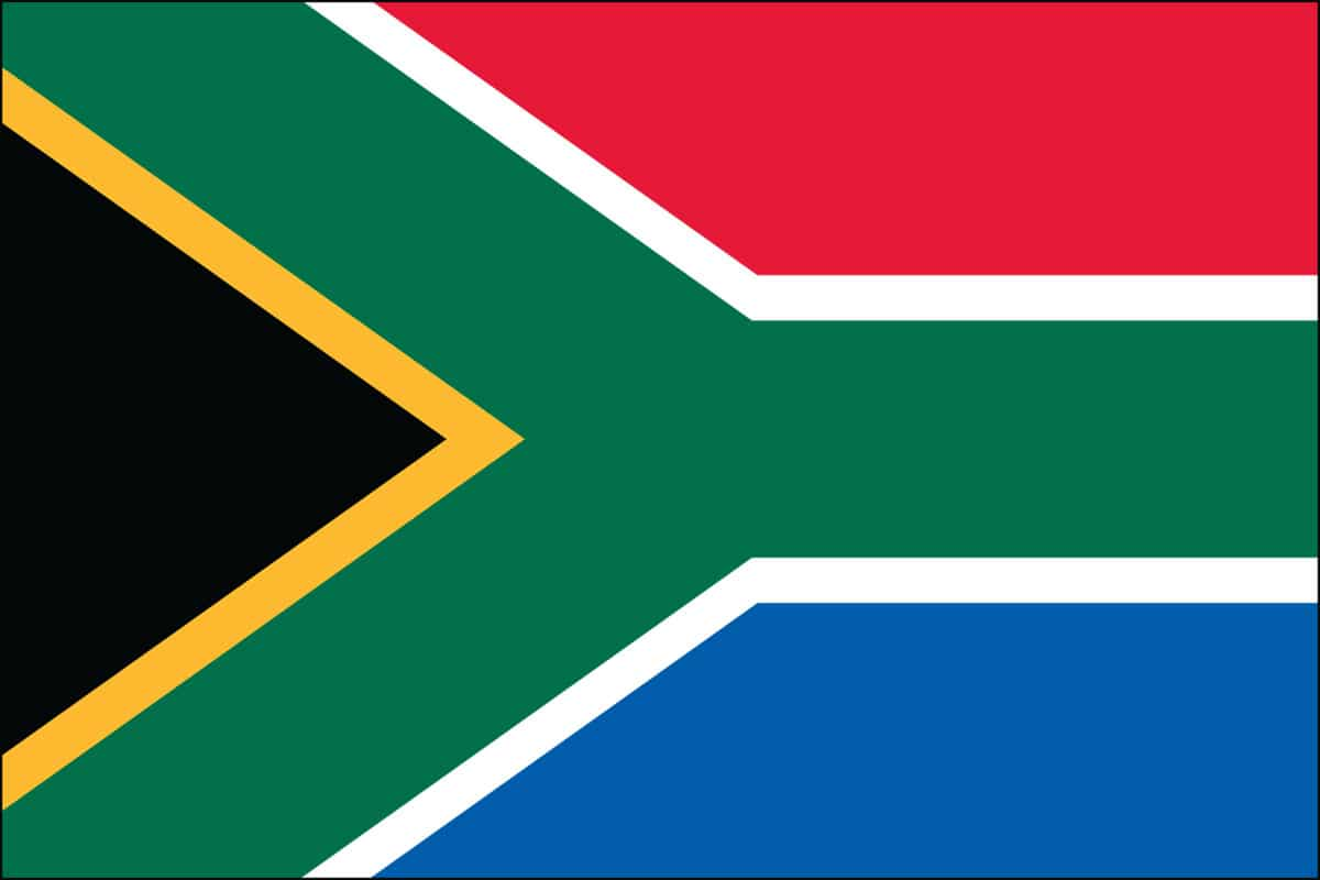 South Africa Flag For Sale