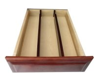 Axis 5440 Expandable Kitchen Drawer Dividers, Walnut ...
