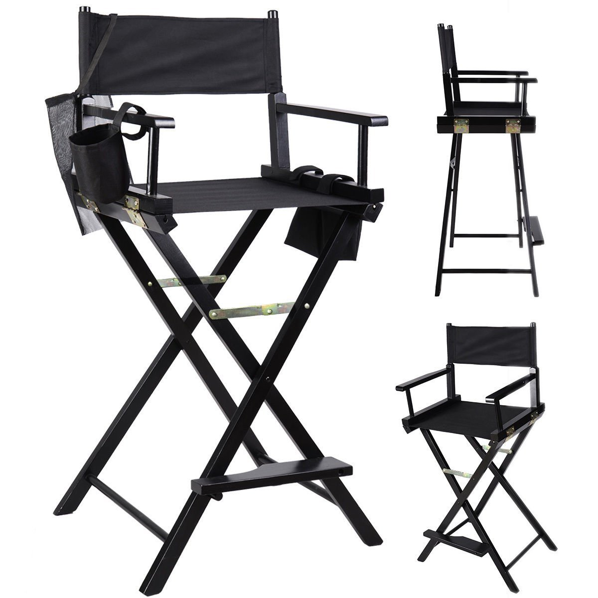 makeup chairs for professional artists yellow chair covers cheap artist directors wood light