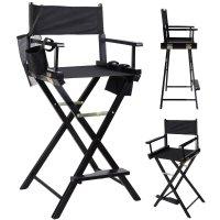 Professional Makeup Artist Directors Chair Wood Light ...