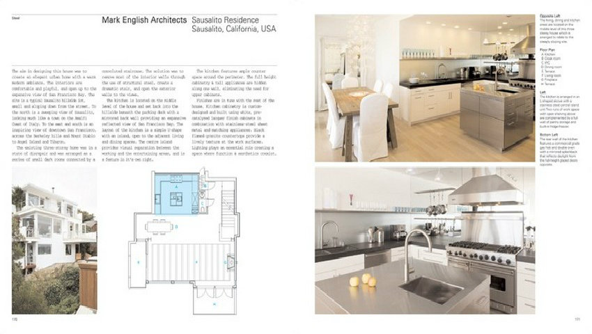 Book Review Detail In Contemporary Kitchen Design Best Design Books