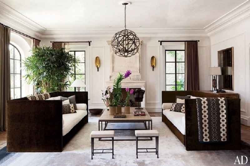 Celebrity Homes Gisele Bundchen And Tom Bradys Los Angeles Home4
