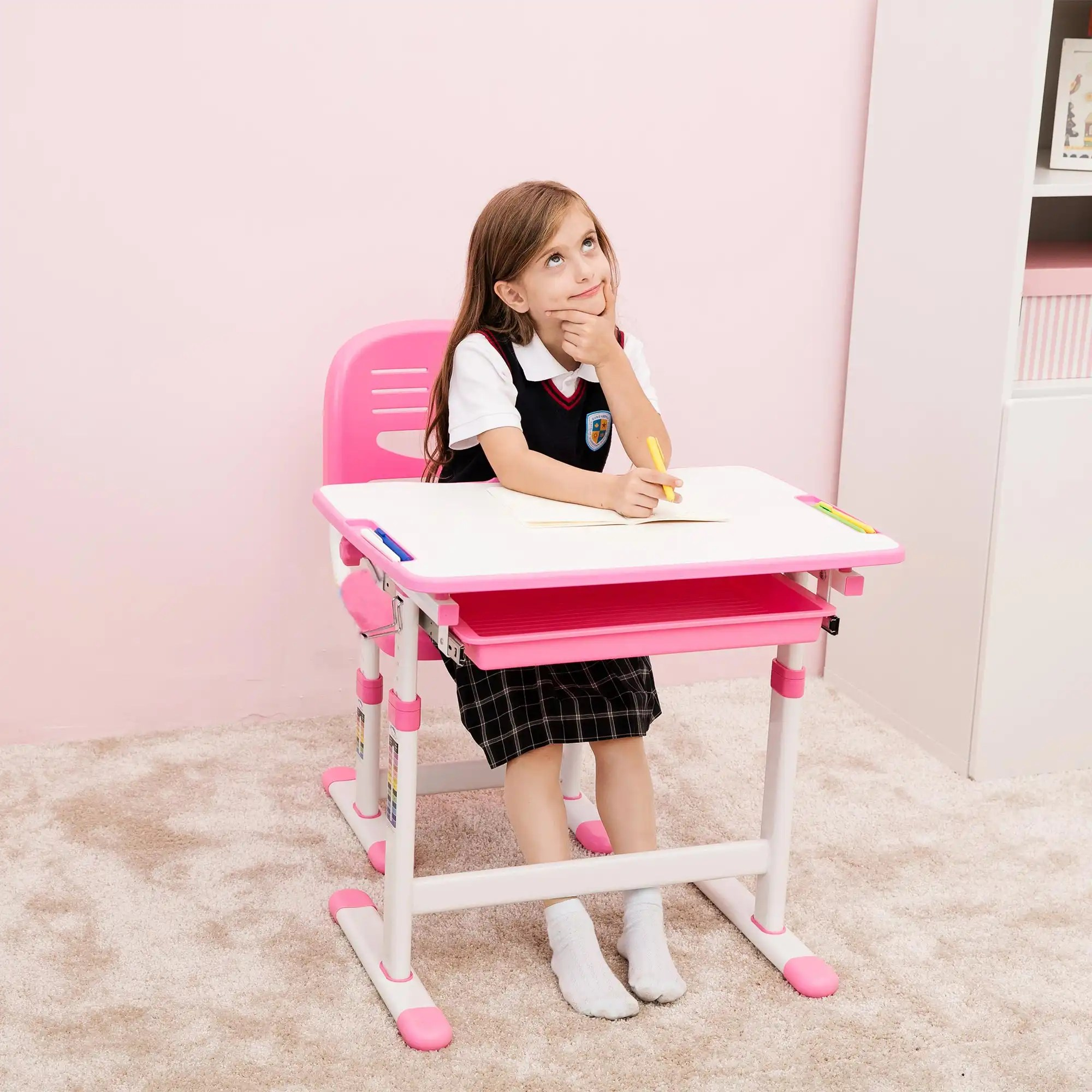 kids desk chairs uk computer target best quality children desks  height