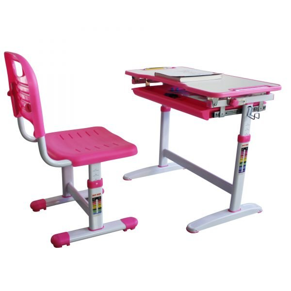 study desk and chair industrial workstation mini pink best quality children desks chairs kids height adjustable table
