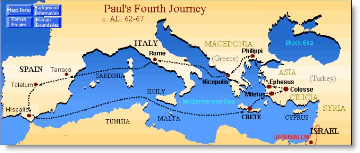 Paul's Fourth Journey