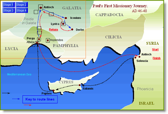 First Missionary Journey 00
