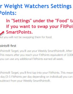 Fitpoints to smartpoints setting  also how do weight watchers activity points work best diet rh bestdiettips