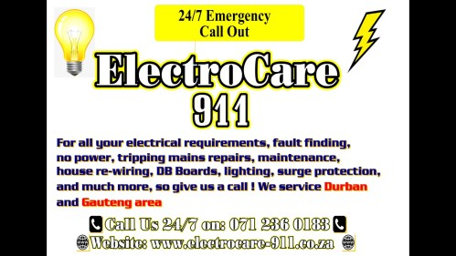small resolution of electrocare 911 logo
