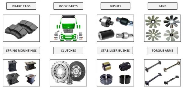 Apollo Truck Spares Heavy Truck Part Supplier, Truck Parts