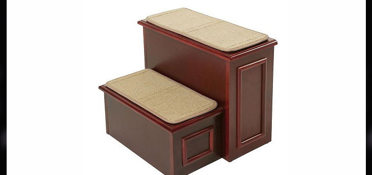 . Gen7Pets Designer Wood Furniture Deluxe Pet 2 Step