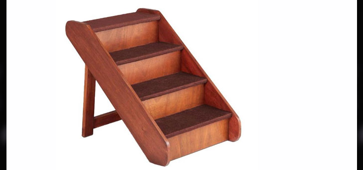 PetSafe Solvit PupSTEP Wood Pet Stairs, X Large
