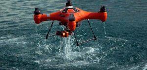 drone da pesca in acqui impermeabile