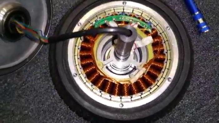 elektrische step brushless motor
