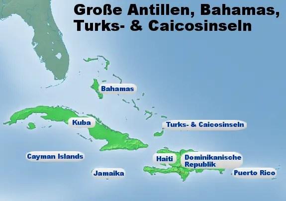 Bildergebnis für dominikanische republik karte
