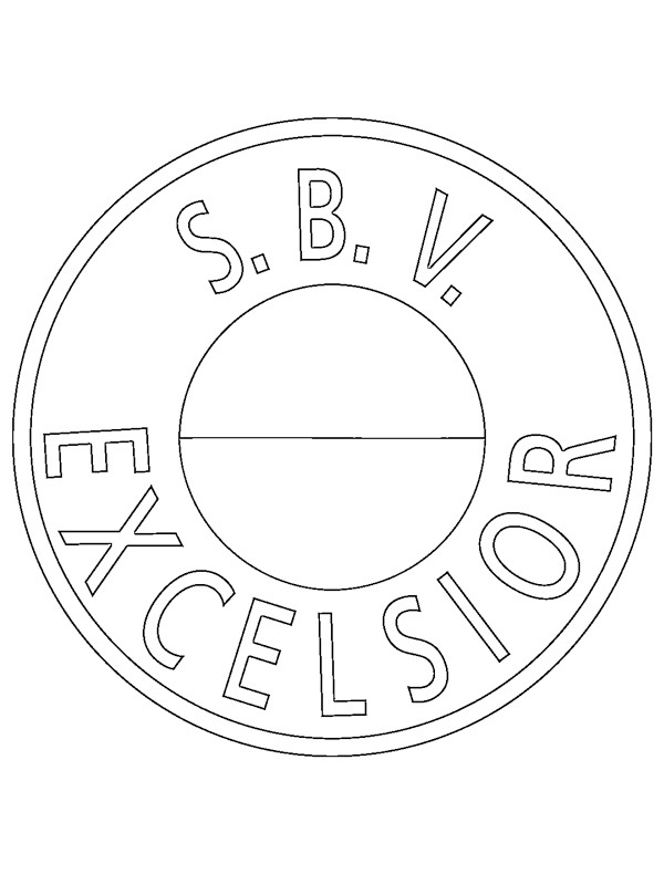 ausmalbilder excelsior rotterdam