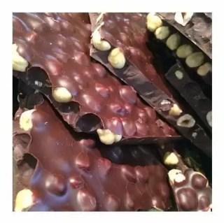 chocolade hazelnoot brokken melk
