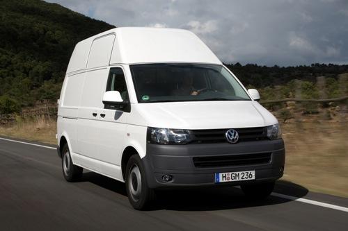 Even rijden met de nieuwe Volkswagen Transporter T5