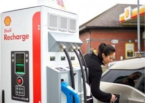 In Acht Minuten Elektrische Auto Opladen Bij Shell Bestelauto Nl