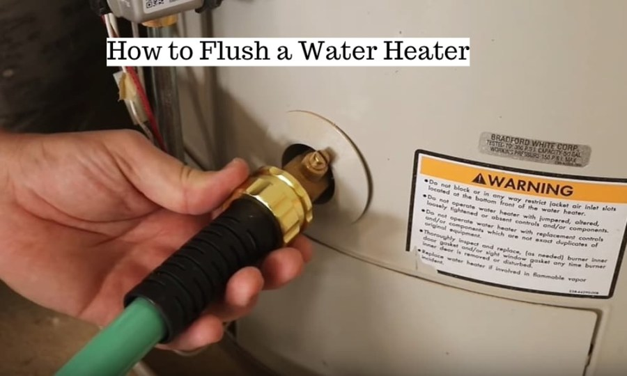 How to Flush a Water Heater?