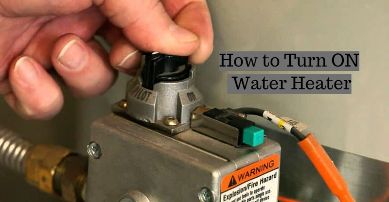 how to turn on water heater | how to light a gas water heater (2021)