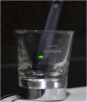 charging with glass and charger base