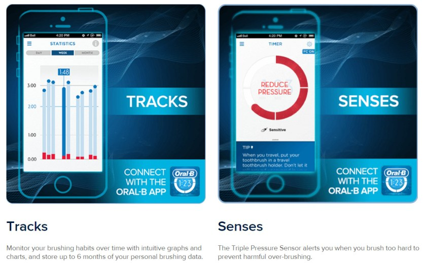 Oral-B Pro 7000 Real Time Feedback With Bluetooth and the Oral-B App Part 2