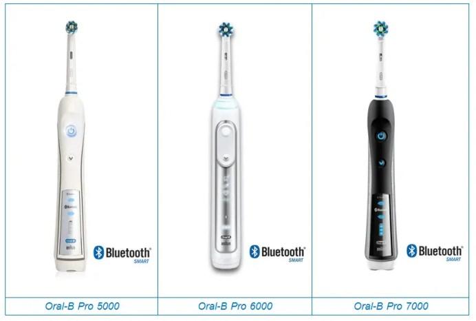 Oral-B 5000 6000 7000 Comparison