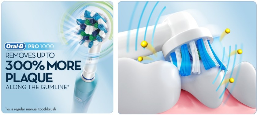 Oral-B Pro 1000 feature