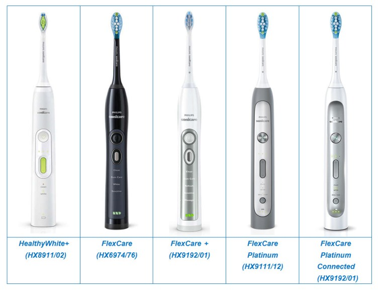 Philips sonicare flexcare plus vs. Platinum, what's the difference.