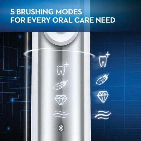 5 brushing modes of Pro 6000