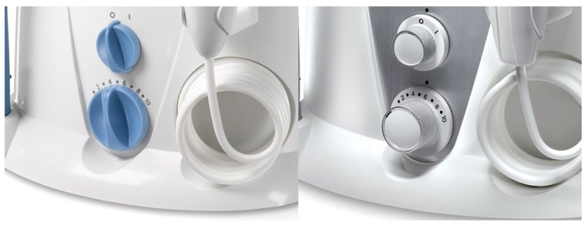 Intensity control of Waterpik WP-900 and WP-950