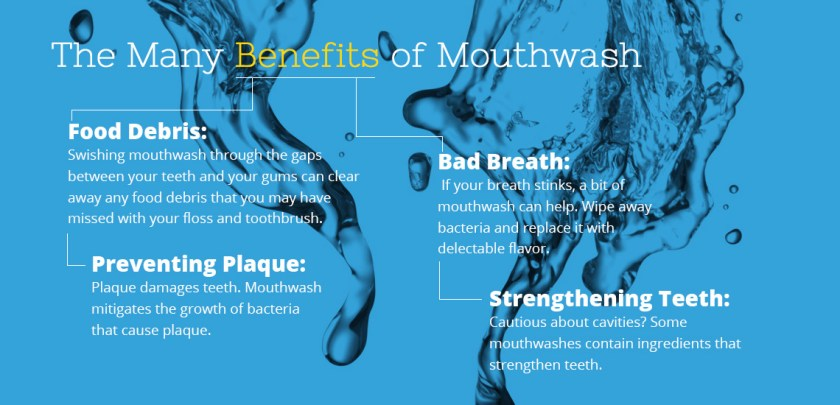 The Many Benefits of Mouthwash