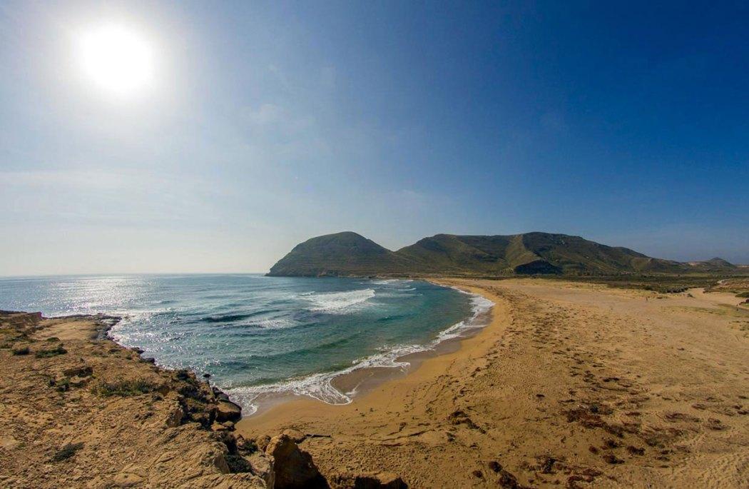 Cabo de Gata Natuurpark in Andalusië