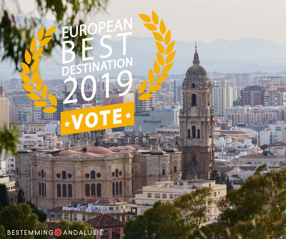 Malaga genomineerd European Best Destinations 2019
