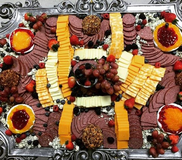 Yum! Our awardwinning Wisconsin cheese tray cheese wisconsin catering janesvillewihellip