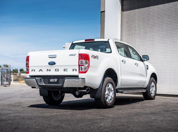 ford ranger diesel 3 2l 2018 cat back exhaust s type