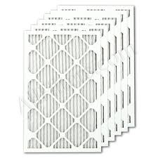 Air Filters for HVAC and Furnace Filters, MERV 8 rating, 1