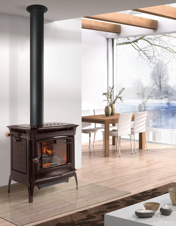 manchester truhybrid wood stove by