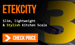 Etekcity kitchen scale on amazon