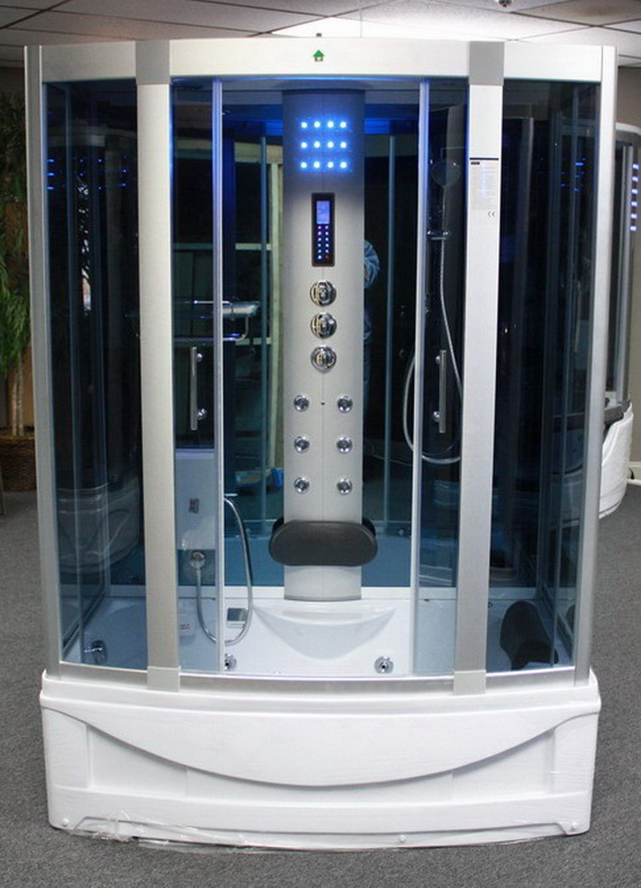 Steam Shower Room With deep Whirlpool TubHeater 1500W