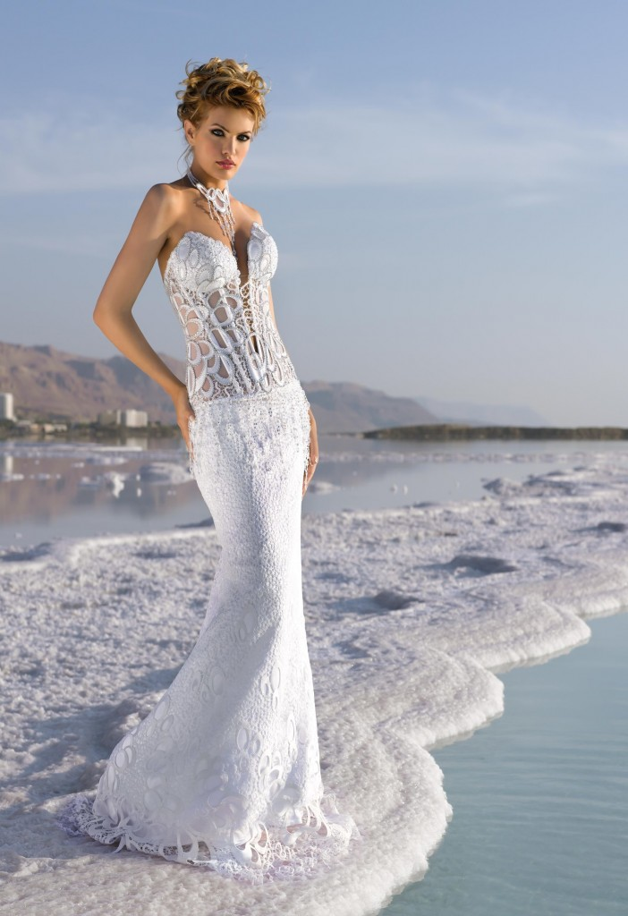Fashion for the Daring Bride Sheer seethrough bridal dresses