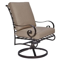 Zara Swivel Chair Zero Gravity Rocking Top 24 Best Club Chairs 2018 Ow Lee Classico W Dining Rocker Arm In Copper Canyon Finish Linden Fabric